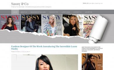 sassyandcomag.com screenshot
