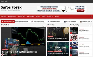 saros-forex.com screenshot