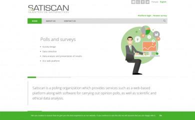 http://satiscan.com screenshot