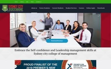 sccm.edu.au screenshot