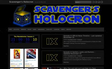 http://scavengersholocron.com screenshot