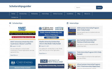 scholarshipsguider.com screenshot