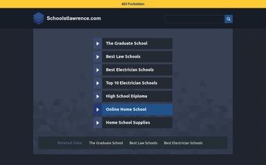 schoolstlawrence.com screenshot