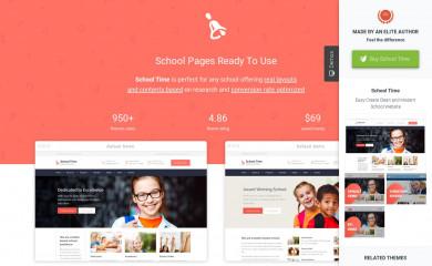 schooltime.aislinthemes.com screenshot