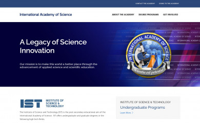 http://science.edu screenshot