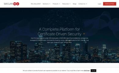 securew2.com screenshot