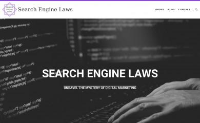 searchenginelaws.com screenshot