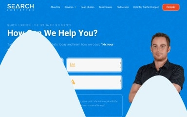 searchlogistics.com screenshot