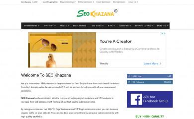 seokhazana.com screenshot