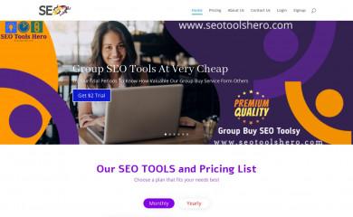 seotoolshero.com screenshot