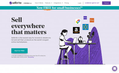 sellbrite.com screenshot