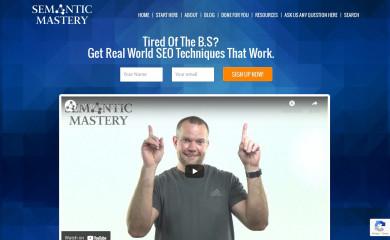 semanticmastery.com screenshot