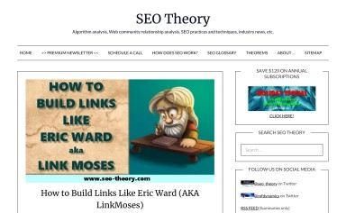 seo-theory.com screenshot