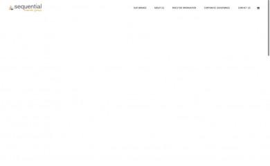 sequentialbrandsgroup.com screenshot