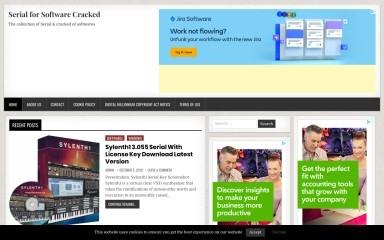 http://serialcracked.com screenshot