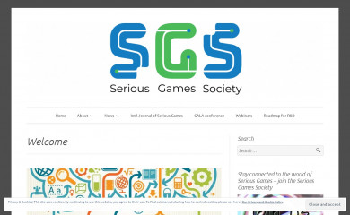 http://seriousgamessociety.org screenshot
