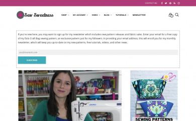 sewsweetness.com screenshot