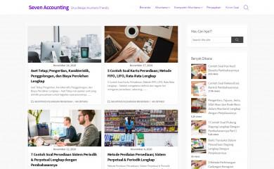 sevenaccounting.net screenshot
