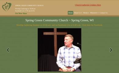 sgcommunitychurch.org screenshot