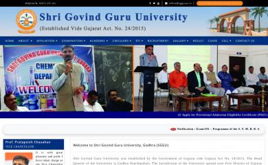 http://sggu.ac.in screenshot