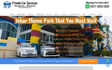 sgmytaxi.com screenshot