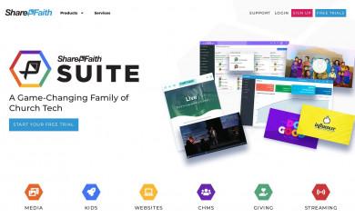 http://www.sharefaith.com screenshot