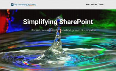 sharepointacademy.nl screenshot