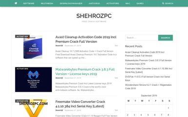 http://shehrozpc.com screenshot