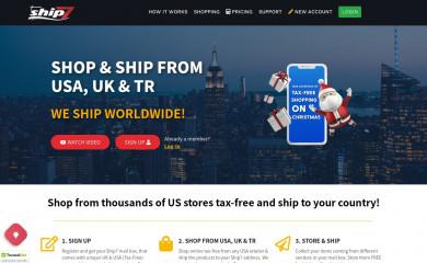 ship7.com screenshot