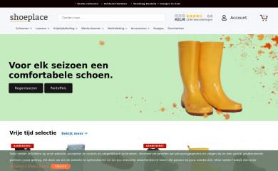 shoeplace.nl screenshot