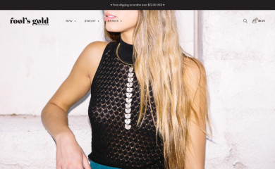 http://shopfoolsgold.com screenshot