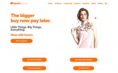 shophumm.com screenshot