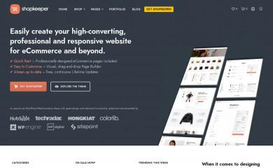 http://shopkeeper.getbowtied.com/ screenshot