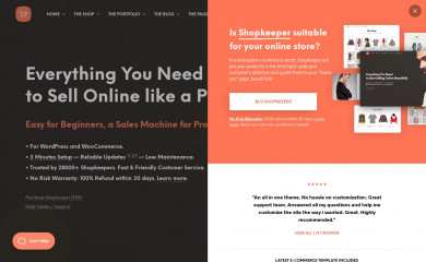 https://shopkeeper.wp-theme.design/ screenshot