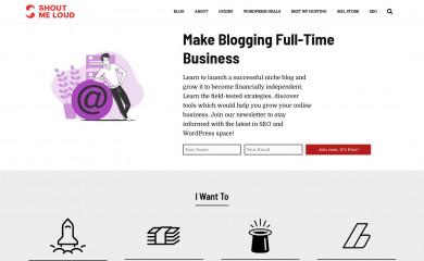 http://shoutmeloud.com screenshot