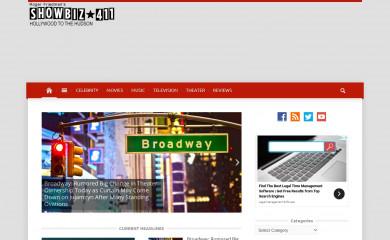 http://showbiz411.com screenshot