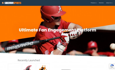 sidearmsports.com screenshot
