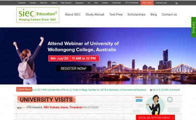 siecindia.com screenshot
