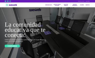 http://sieweb.com.pe screenshot