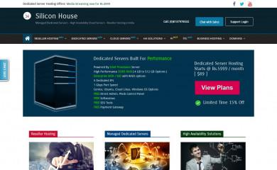 siliconhouse.net screenshot