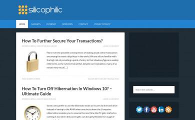 silicophilic.com screenshot