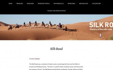 http://silk-road.com screenshot