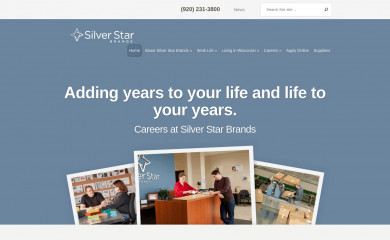 http://silverstarbrands.com screenshot