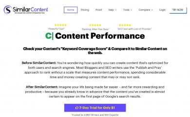 similarcontent.com screenshot