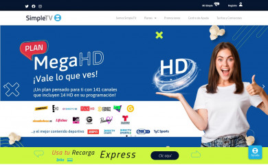 simple.com.ve screenshot