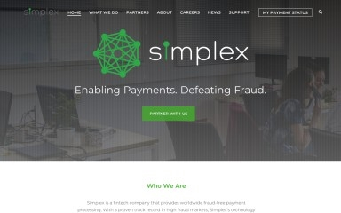simplexcc.com screenshot