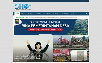 http://sinarharapan.net screenshot