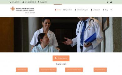 sitarambhartia.org screenshot