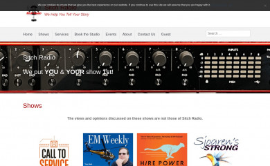 sitchradio.com screenshot