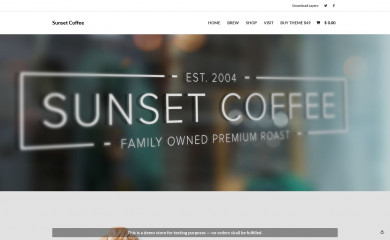 Sunset Coffee screenshot